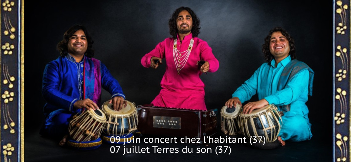 concert Amrat Hussain Brothers Trio